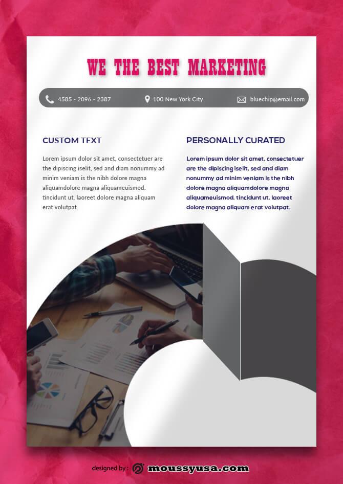 Marketing Data Sheet templates Example