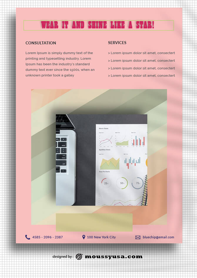 Marketing Data Sheet templates Sample