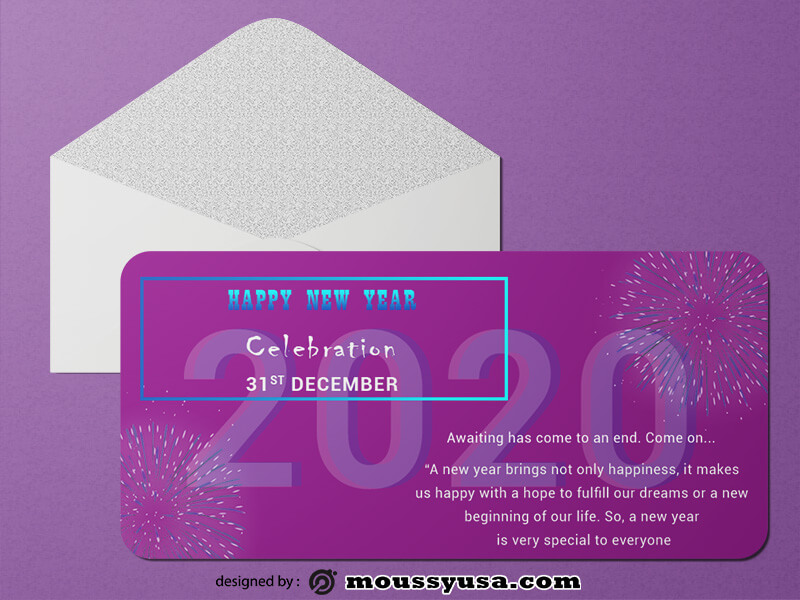 New Year Greeting Card templates Ideas