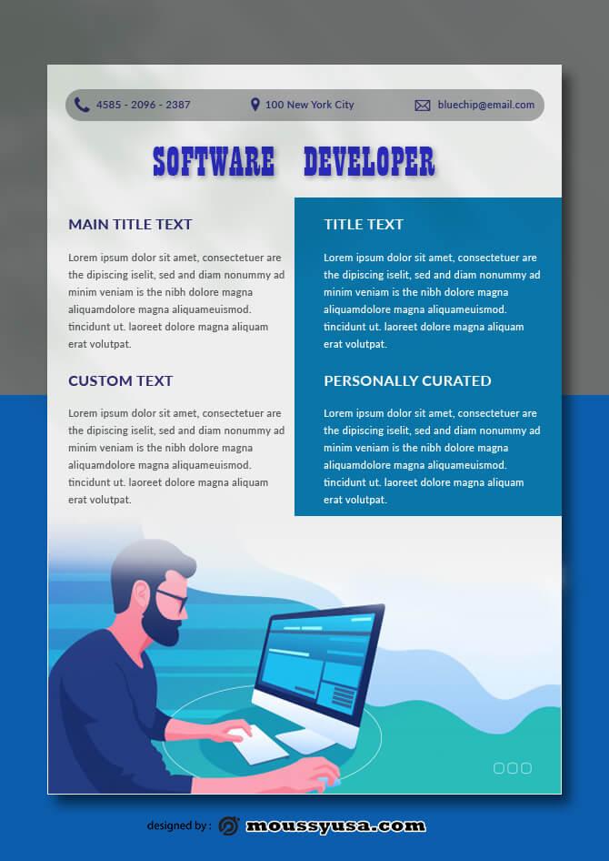 Software Data Sheet Design PSD