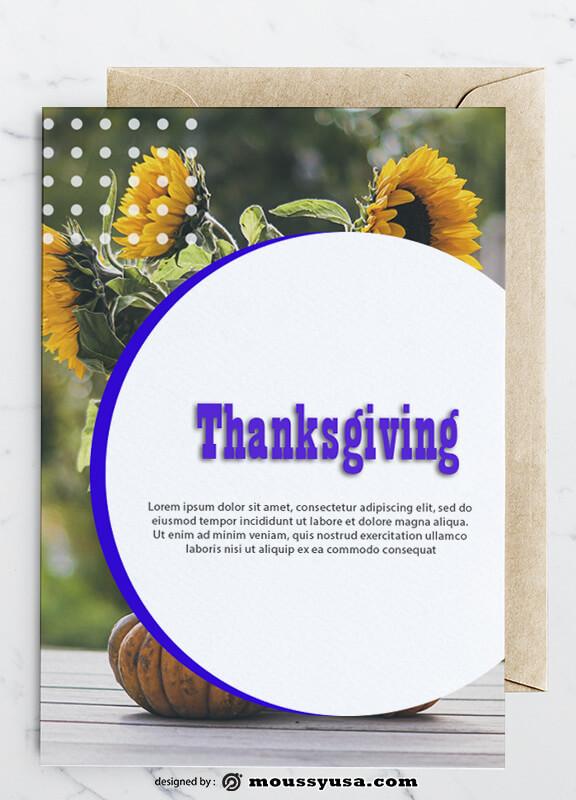 Thanksgiving Greeting Card Design Ideas