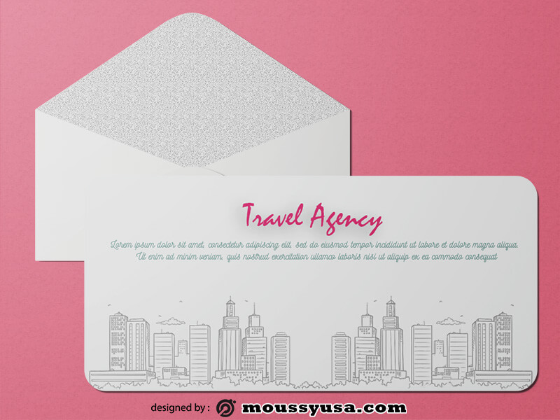 Travel Agency Greeting Card templates Ideas