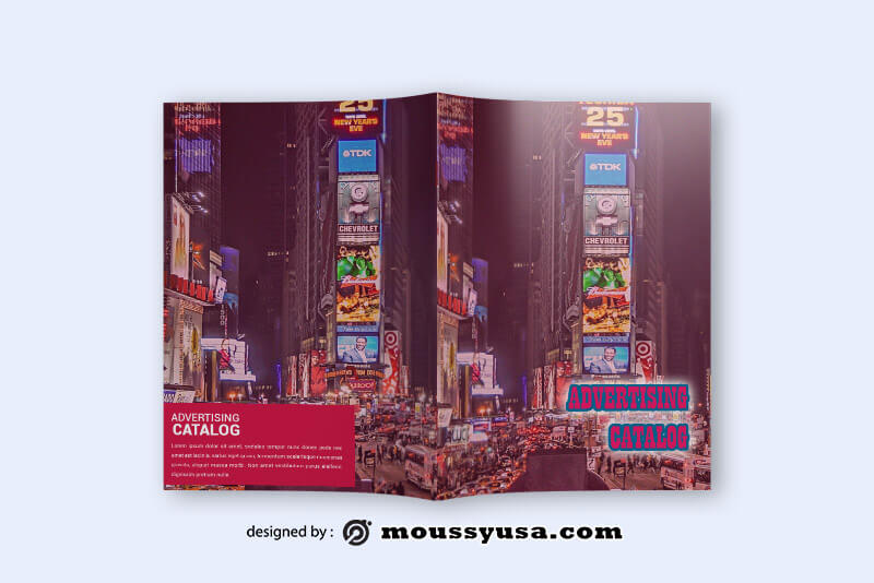 Advertising Catalog templates Design