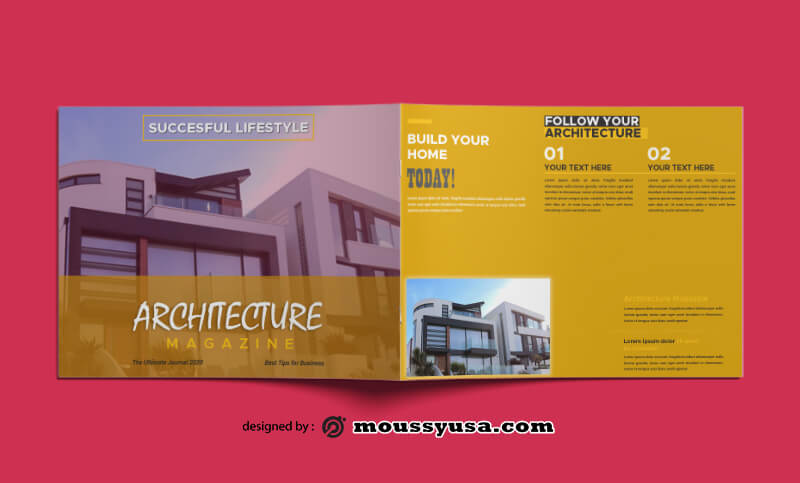 Architecture Magazine templates Design