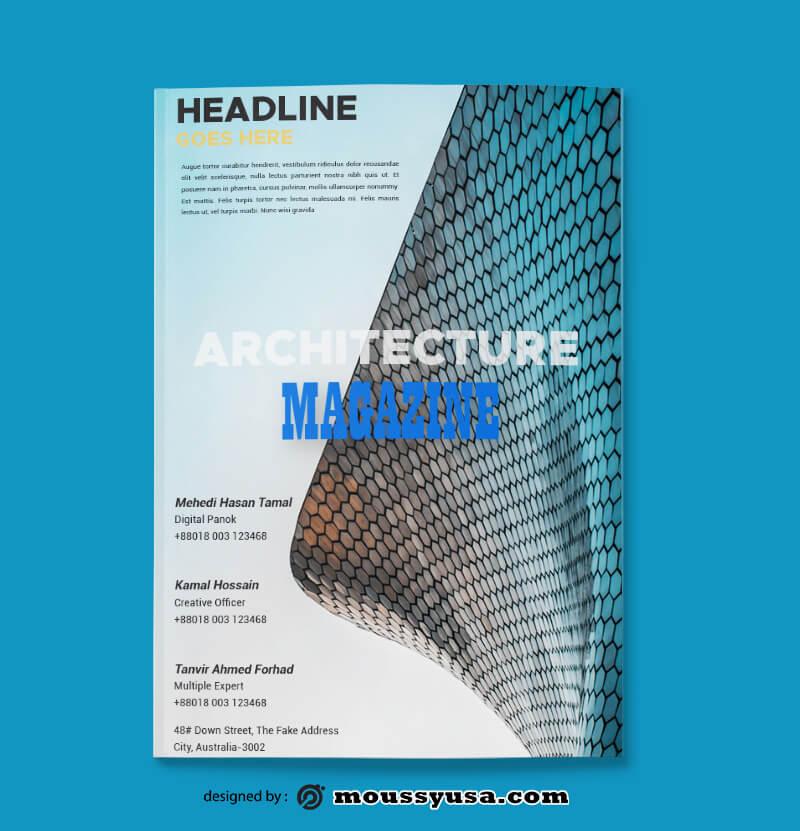 Architecture Magazine templates Ideas