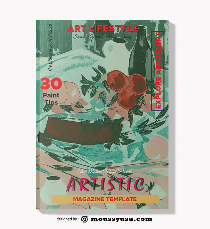 Art Magazine templates Design