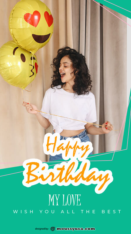Birthday Banner template for photoshop