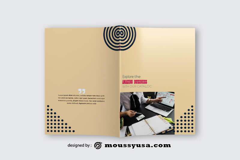 Business Catalog Design Ideas