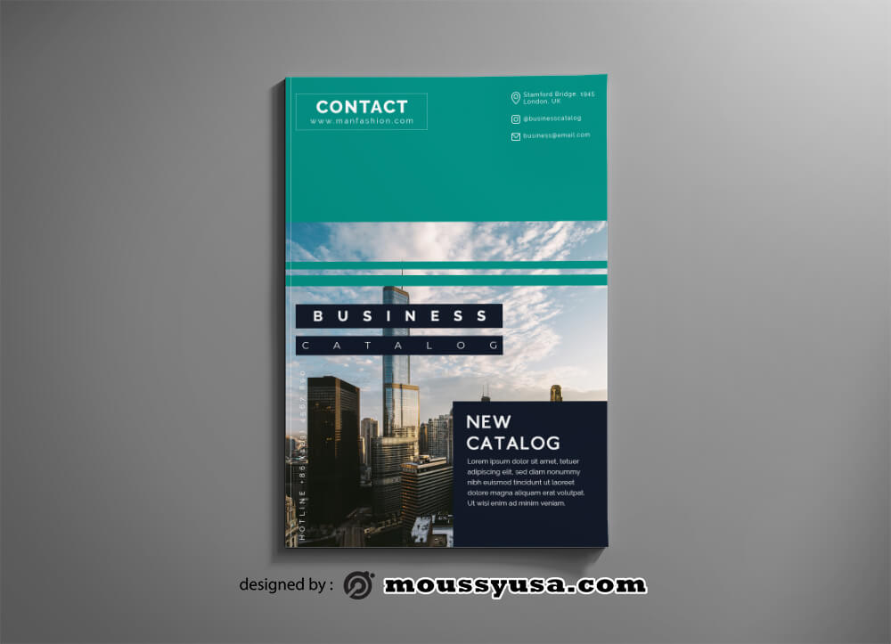 Business Catalog Design PSD