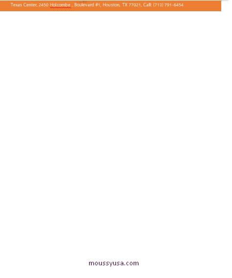 Business Letterhead customizable word design template