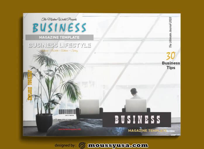 Business Magazine templates Ideas