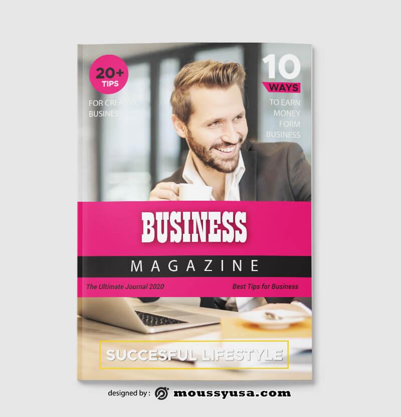 Business Magazine templates Sample
