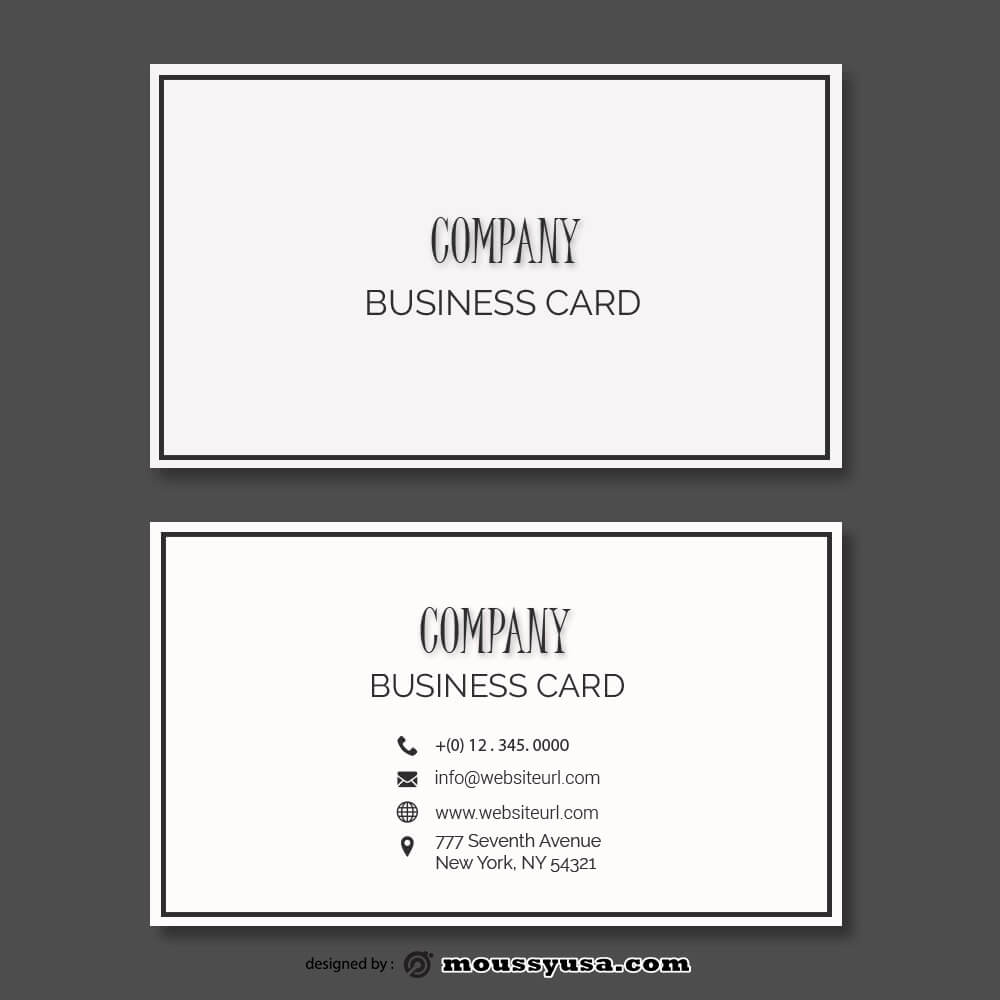 Business card Template free download psd
