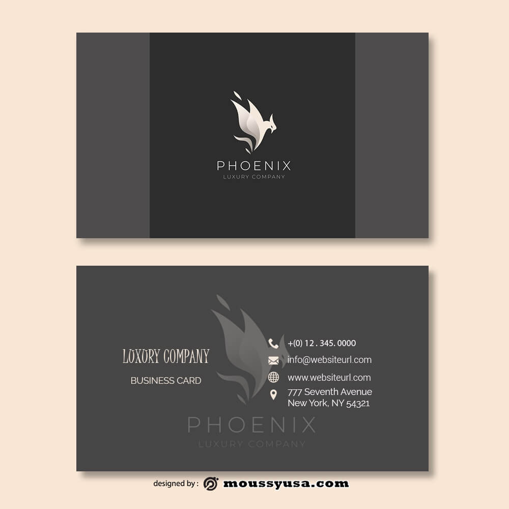 Business card Template psd template free