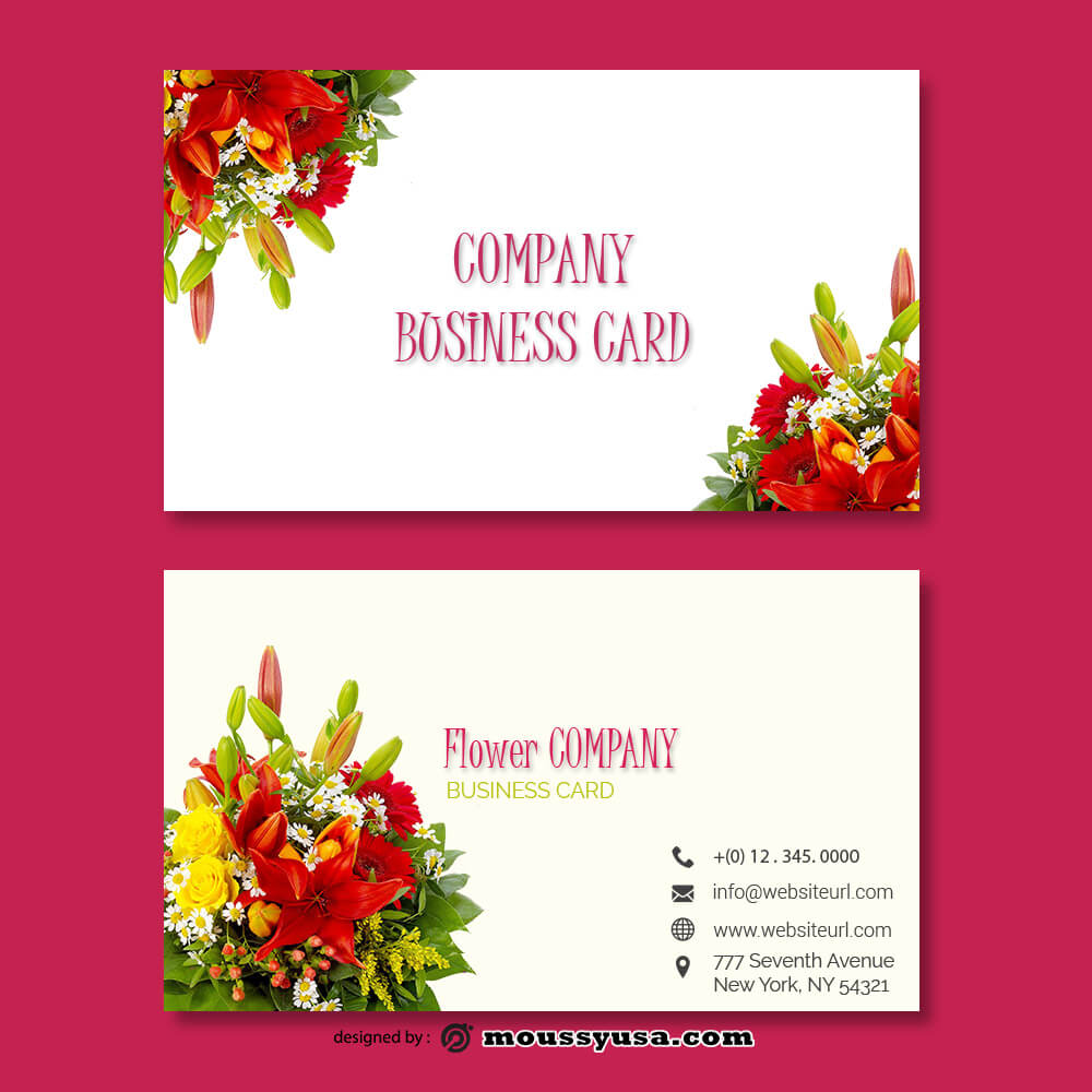 Business card Template template free psd
