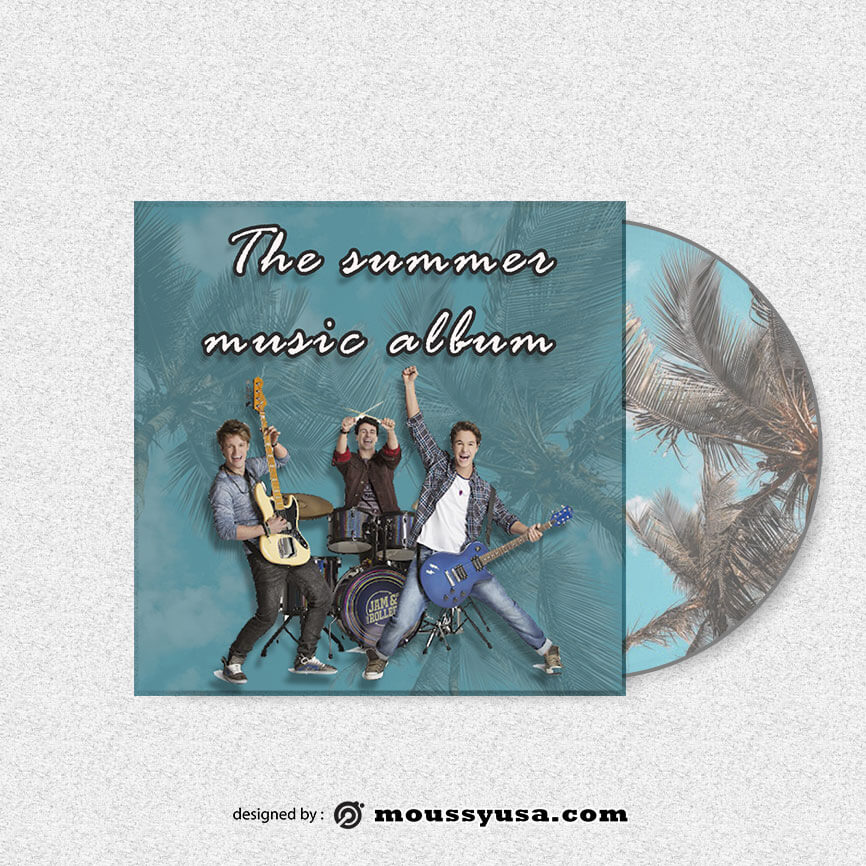CD cover free download psd