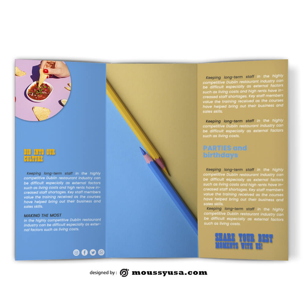 Creative Brochure Design Ideas
