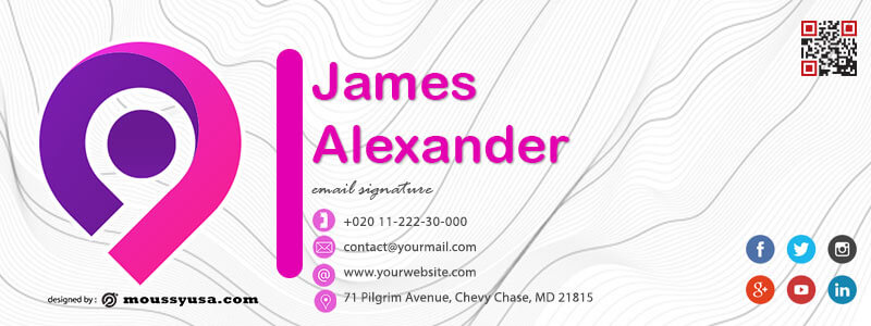 Email Signature in photoshop