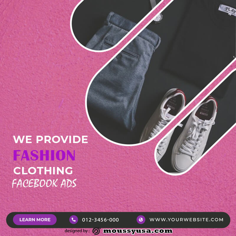 Facebook Ad customizable psd design template