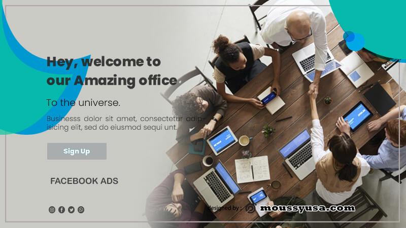 Facebook Ad in psd design