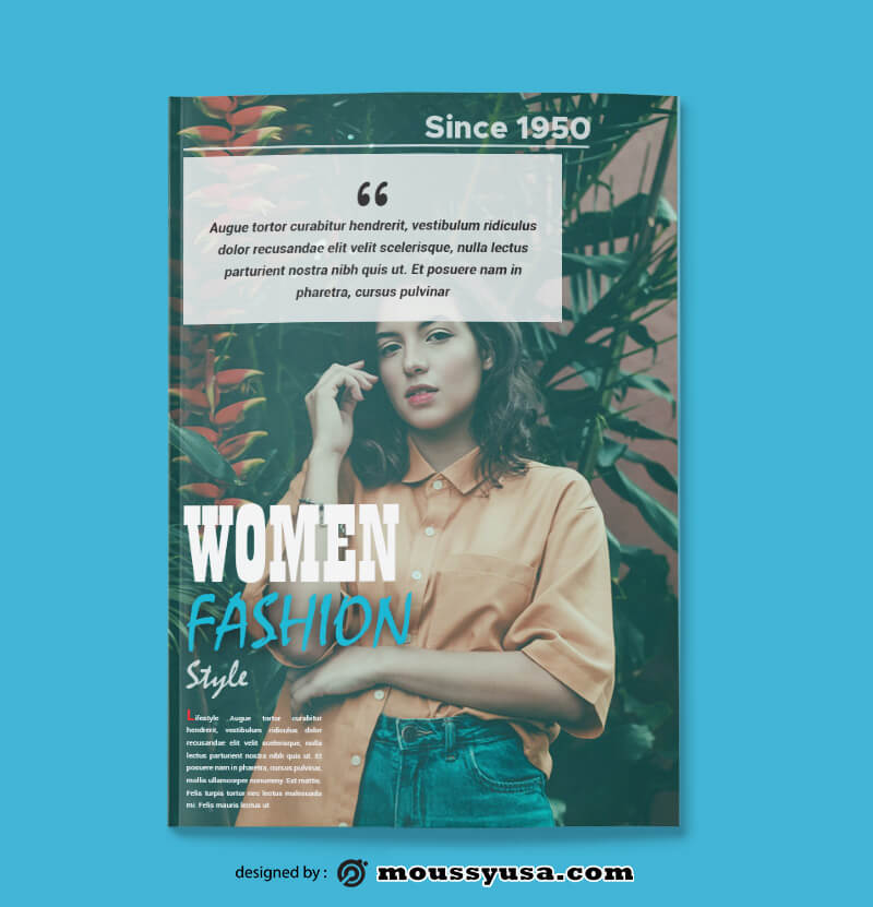 Fashion Magazine templates Design