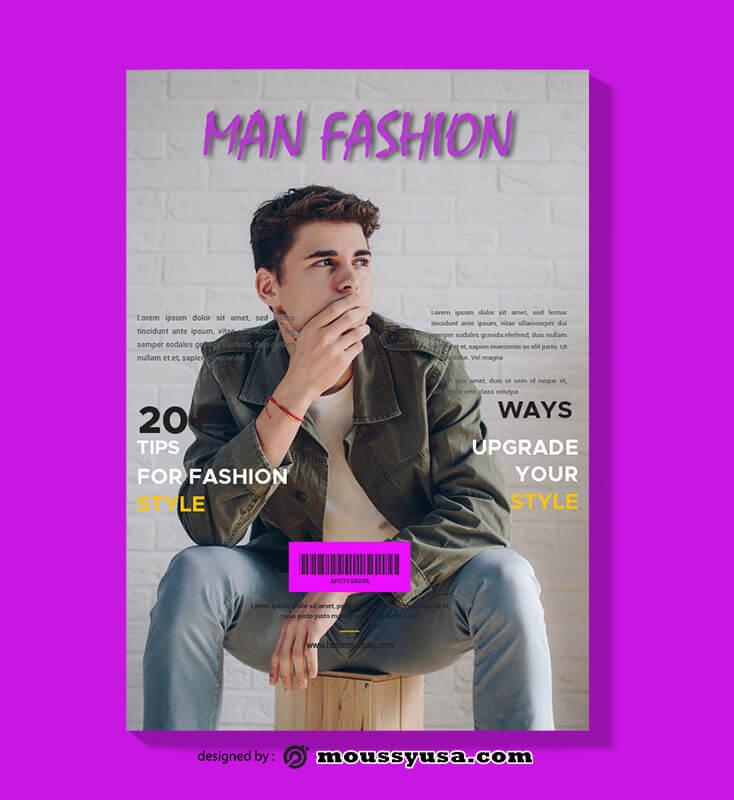Fashion Magazine templates Example