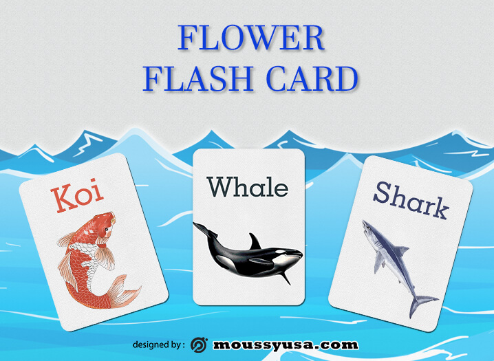 Flash Card in photoshop free download