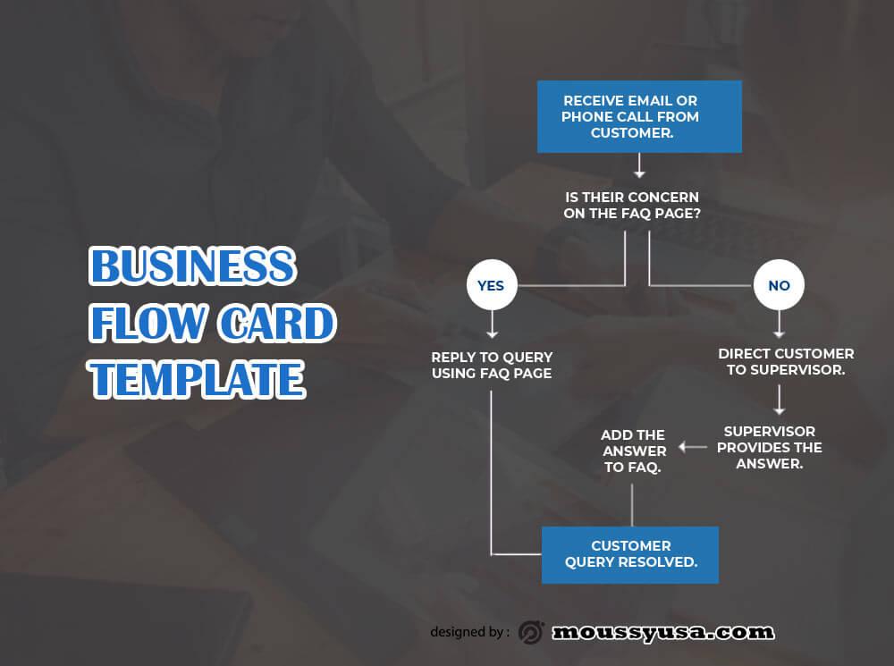 Flow Chart free psd template