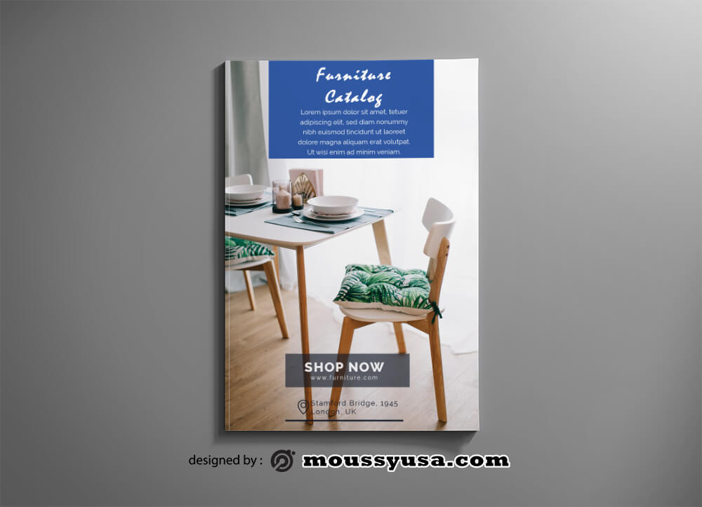 Furniture Catalog templates Sample