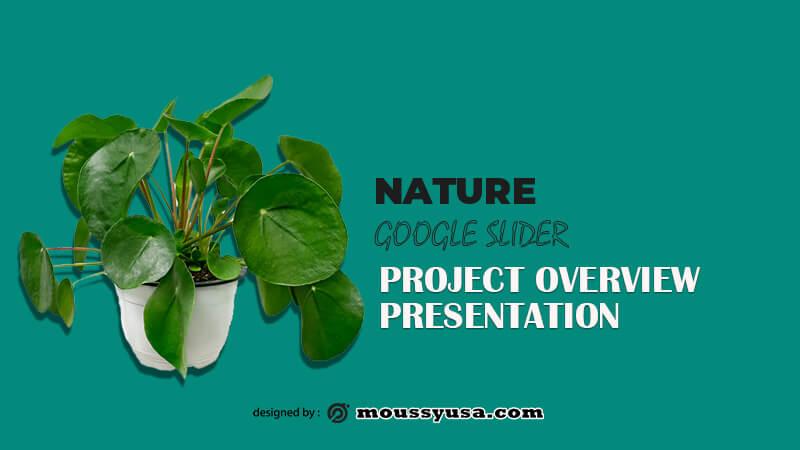 Google Slide psd template free