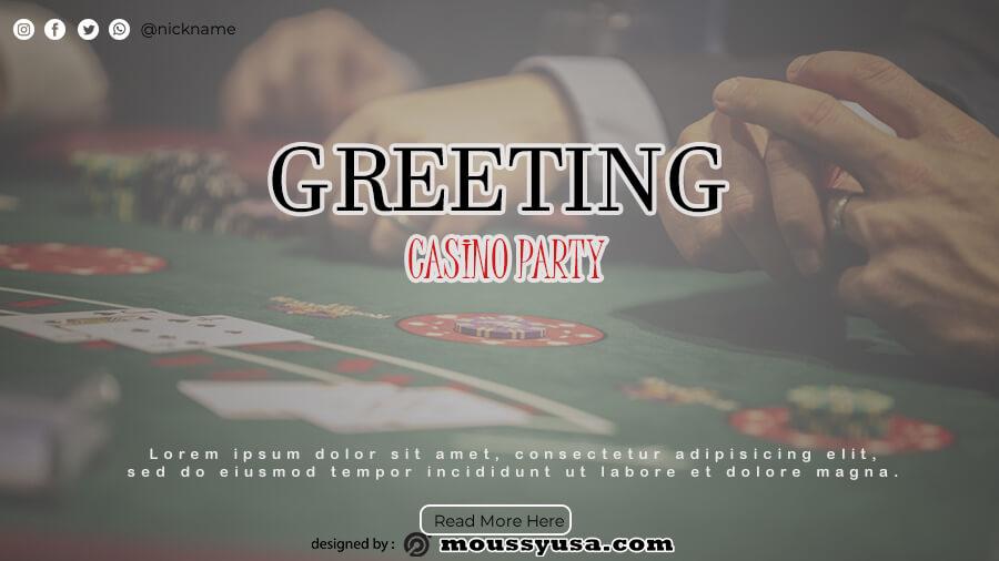 Greeting Cards customizable psd design template