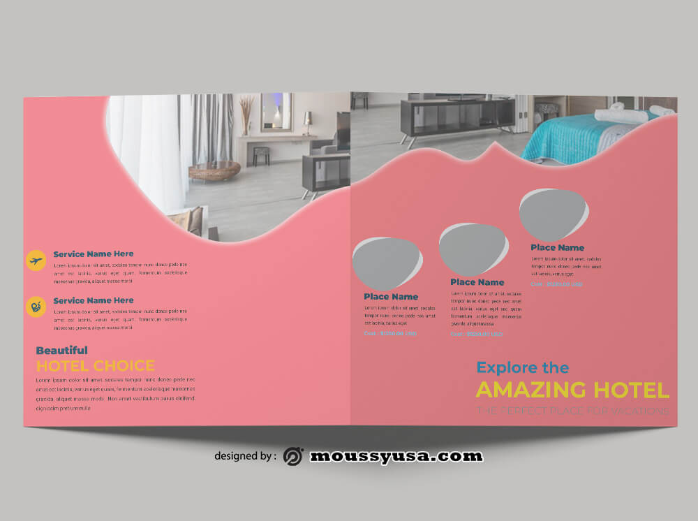 Hotel Brochure Design Ideas