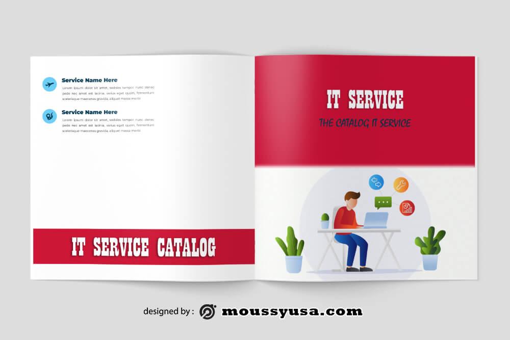 IT Service Catalog templatess Design