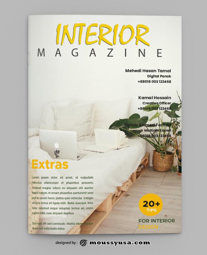 Interior Magazine Design templates