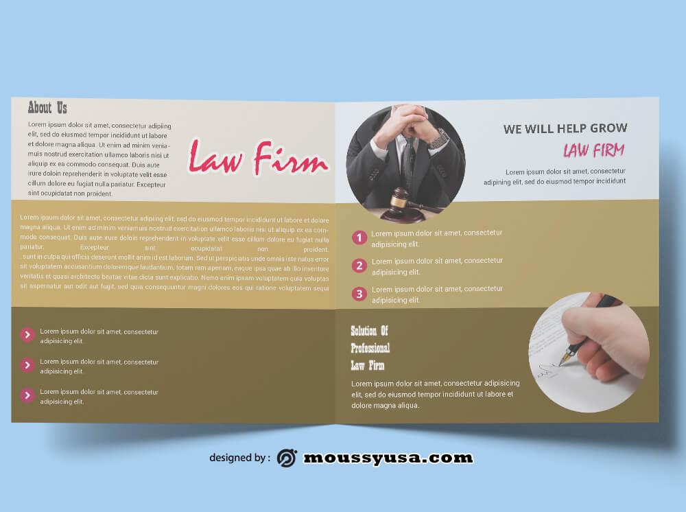 Law Firm Brochure templatess Ideas