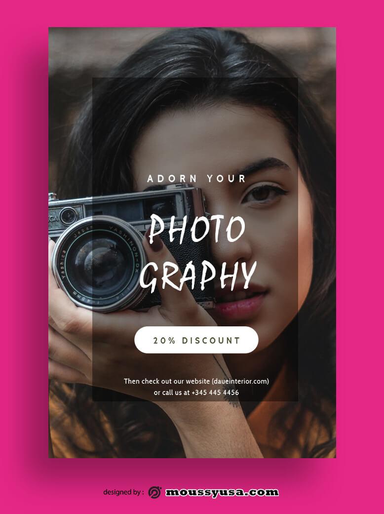 Magazine Cover customizable psd design template