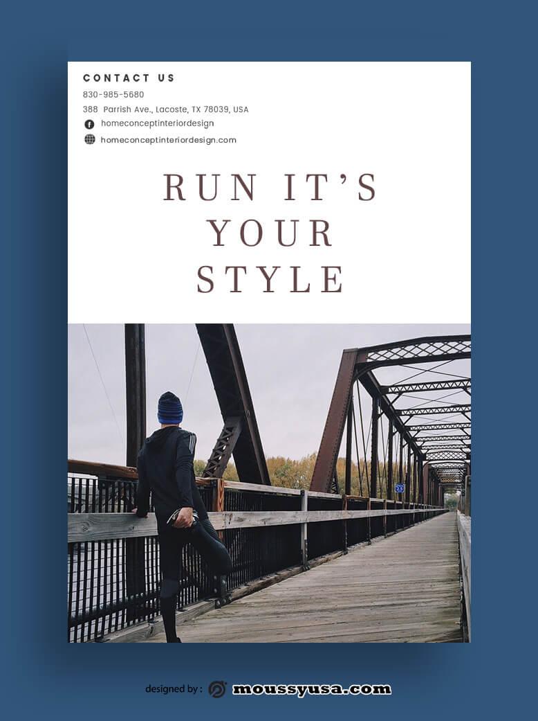 Magazine Cover in psd design