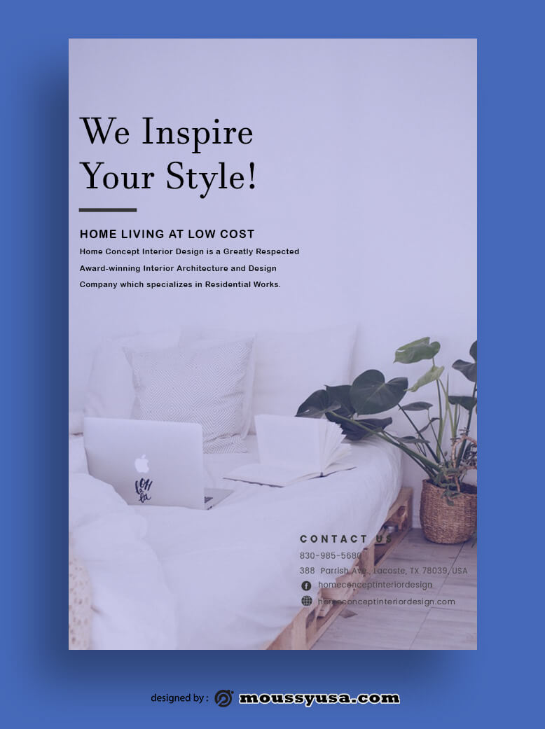 Magazine Cover template free psd