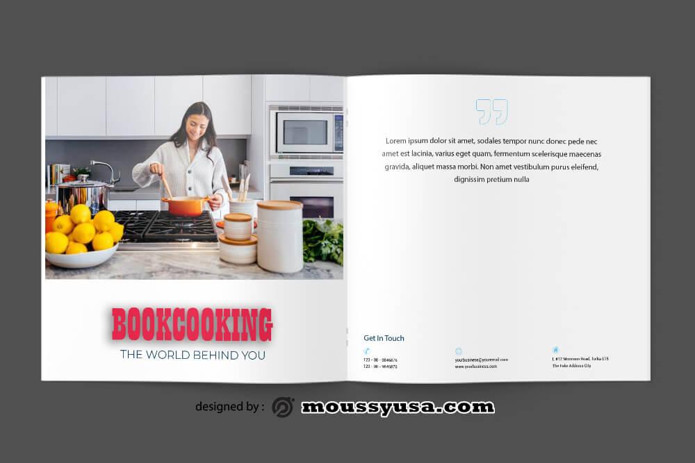 PSD Cookbook Catalog templates