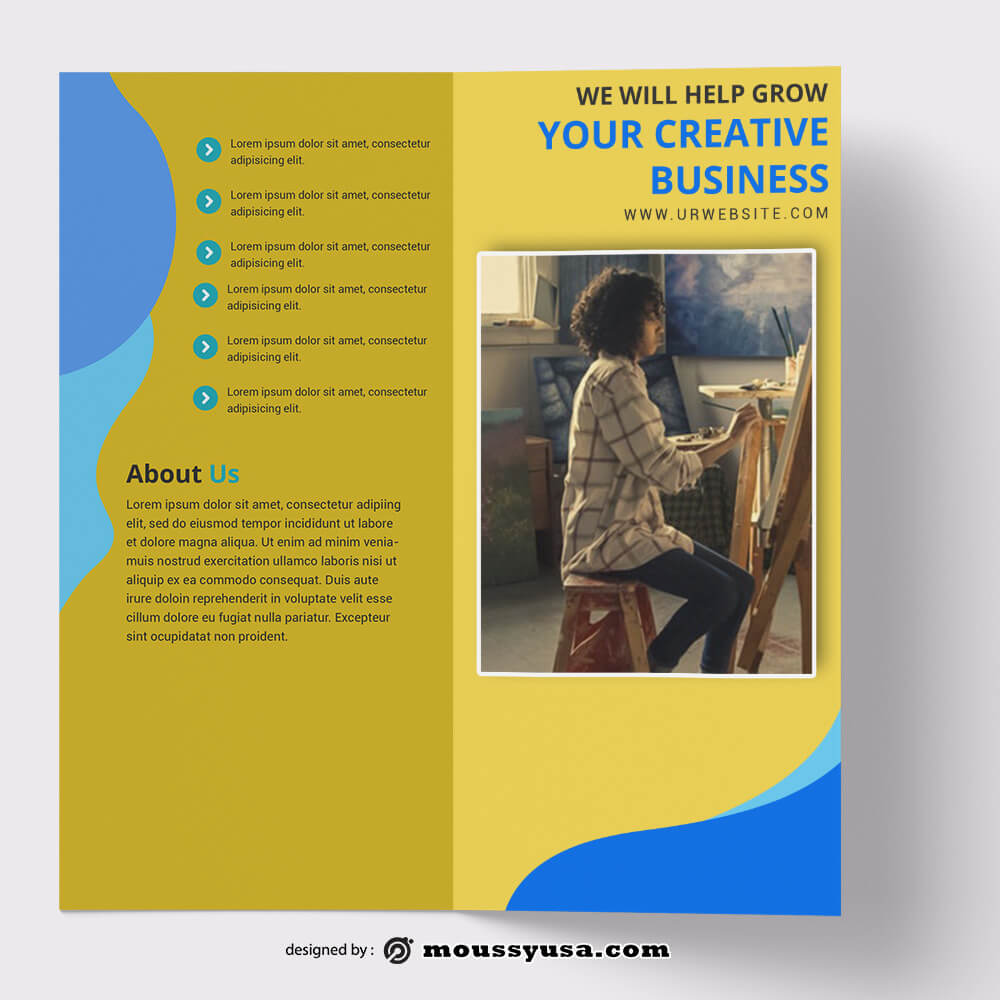 PSD Creative Brochure templates
