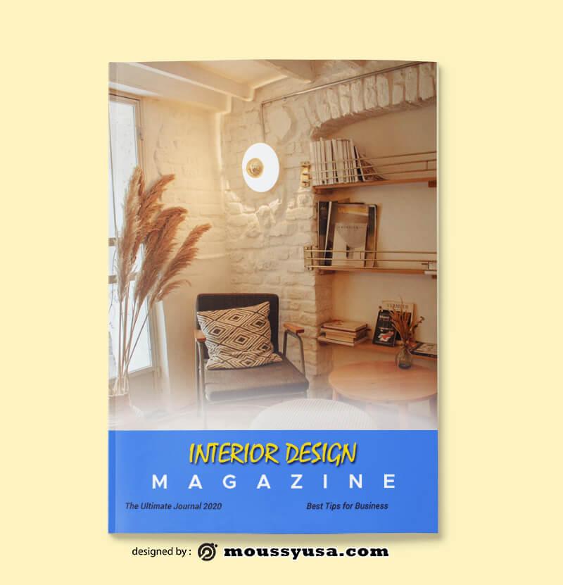 PSD Interior Magazine templates
