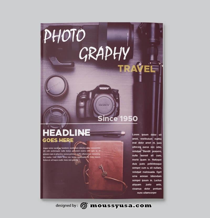 PSD Photographer Magazine templates