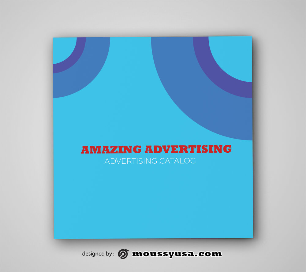 PSD templates For Advertising Catalog