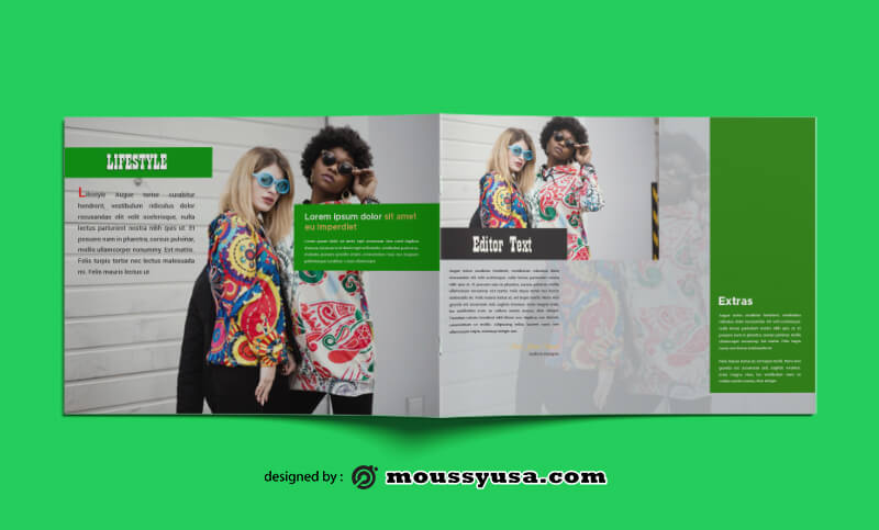 PSD templates For Fashion Magazine