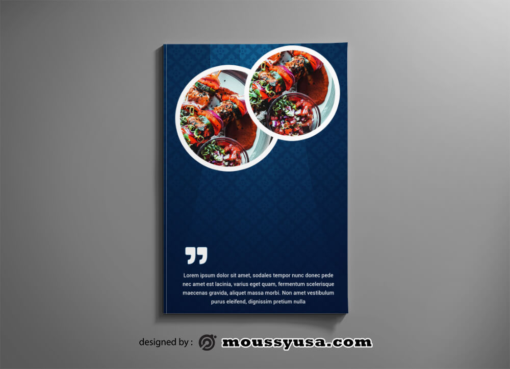 PSD templates For Restaurant Catalog