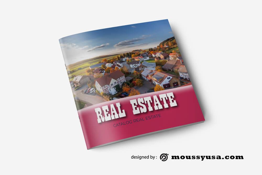 Real Estate Catalog Design PSD