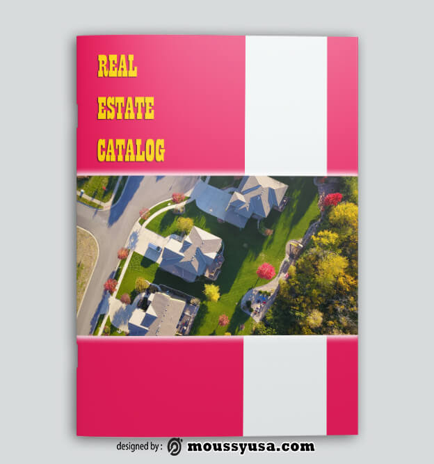 Real Estate Catalog templates Example
