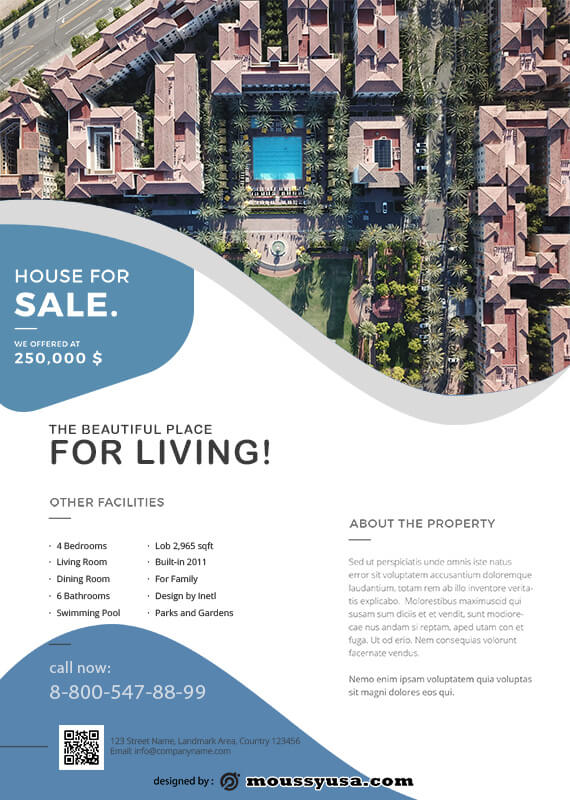 Real Estate Flyers free psd template