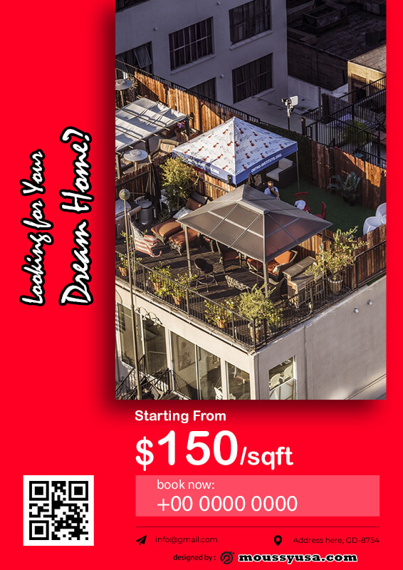 Real Estate Flyers template free psd
