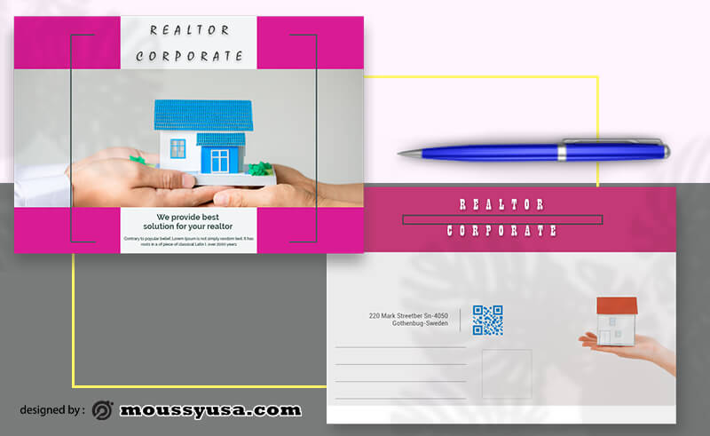Realtor Postcard templates Design